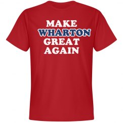 Make Wharton Great Again