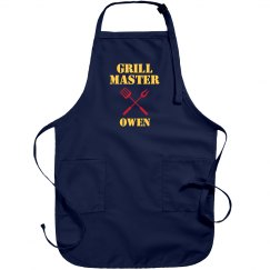 OWEN The Grill Master Funny
