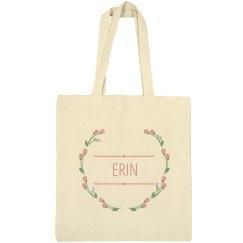 Floral Wreath Erin Bag