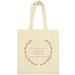 Floral Wreath Callie Bag