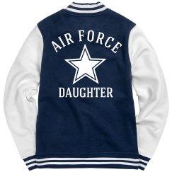 Air Force Daughter Fleece
