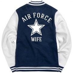 Air Force Wife Fleece