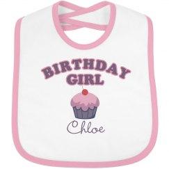 Birthday Bib Chloe