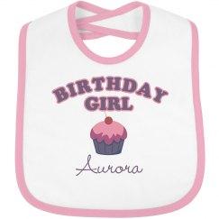 Birthday Bib Aurora