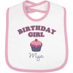 Birthday Bib Mya