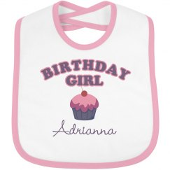 Birthday Bib Adrianna