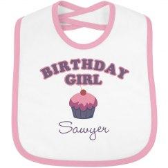 Birthday Bib Sawyer