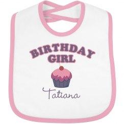 Birthday Bib Tatiana