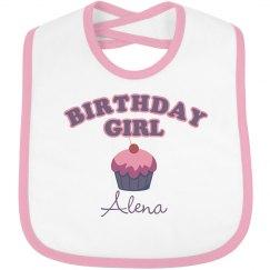 Birthday Bib Alena