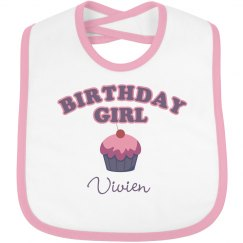 Birthday Bib Vivien