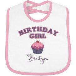 Birthday Bib Jaclyn