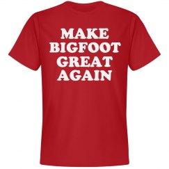 Make Bigfoot Great Again