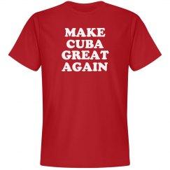 Make Cuba Great