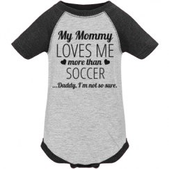 Funny Soccer Baby Onesie