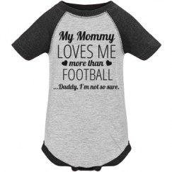 Funny Football Baby Onesie