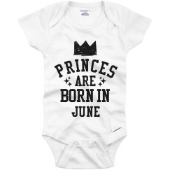 Princes Are Born In June
