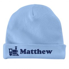 Baby Boy Matthew Train Hat