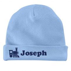 Baby Boy Joseph Train Hat