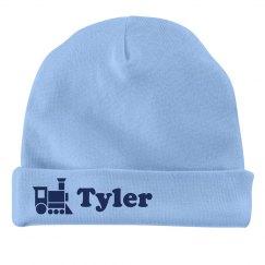 Baby Boy Tyler Train Hat