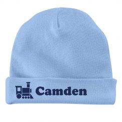 Baby Boy Camden Train Hat