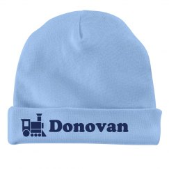 Baby Boy Donovan Train Hat