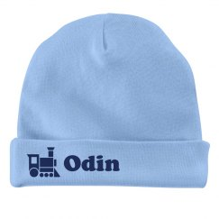 Baby Boy Odin Train Hat
