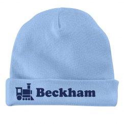Baby Boy Beckham Train Hat