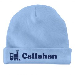 Baby Boy Callahan Train Hat