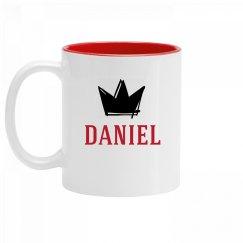 Personalized King Daniel Mug