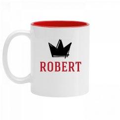 Personalized King Robert Mug