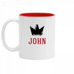 Personalized King John Mug