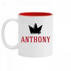 Personalized King Anthony Mug