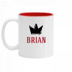 Personalized King Brian Mug