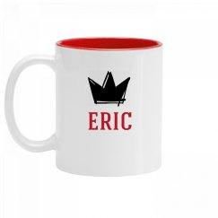 Personalized King Eric Mug