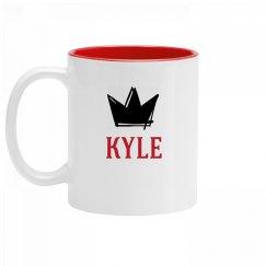 Personalized King Kyle Mug