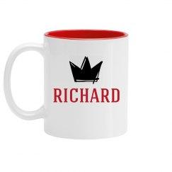 Personalized King Richard Mug