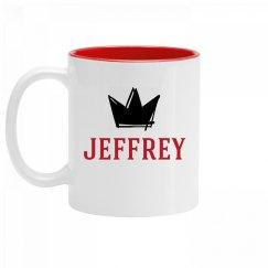 Personalized King Jeffrey Mug