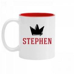 Personalized King Stephen Mug
