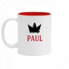 Personalized King Paul Mug