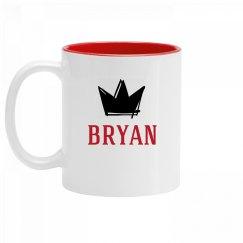 Personalized King Bryan Mug