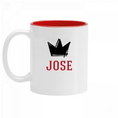 Personalized King Jose Mug