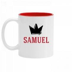 Personalized King Samuel Mug
