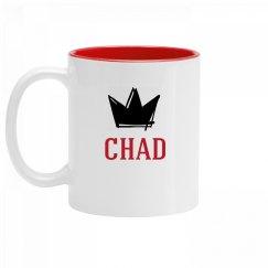 Personalized King Chad Mug