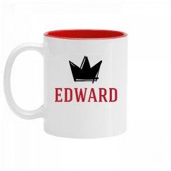 Personalized King Edward Mug