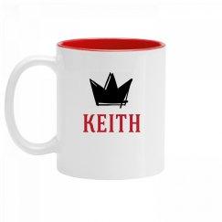 Personalized King Keith Mug