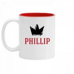 Personalized King Phillip Mug