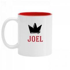 Personalized King Joel Mug