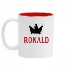 Personalized King Ronald Mug