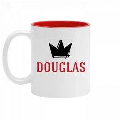 Personalized King Douglas Mug