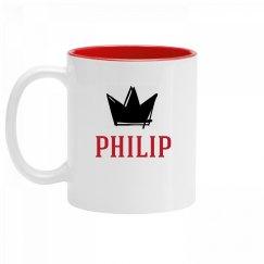 Personalized King Philip Mug
